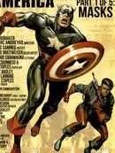 美国队长与巴基漫画