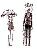 新・潜血者林檎与金鱼缸男 第0话