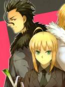 Fate/zero:枪&剑&AUO漫画